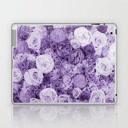 bouquet ver.purple Laptop & iPad Skin