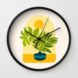 Sunday Morning / Window Series Wall Clock