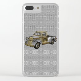 Dad's Old Truck Clear iPhone Case