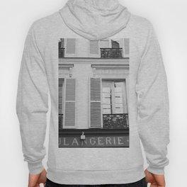 Paris in Black and White, La Boulangerie Hoody