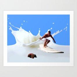 Milko Art Print
