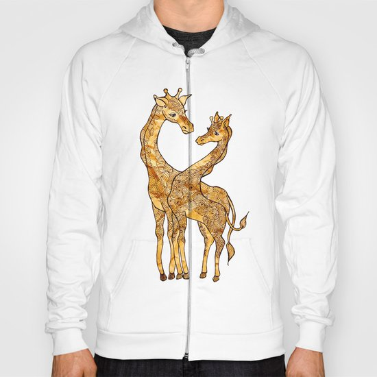 Henna Giraffe Hoody