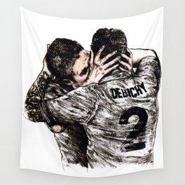Mathieu Debuchy & Olivier Giroud (2013) Wall Tapestry