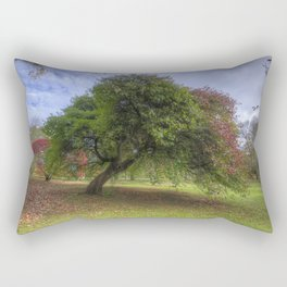 Waiting for Fall Rectangular Pillow