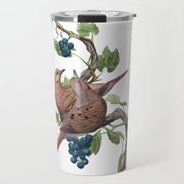 Mourning Doves Travel Mug