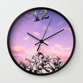 Clock Quake Wall Clock
