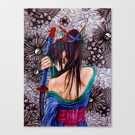 Samuria Canvas Print