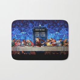 Tardis doctor who lost in the last supper iPhone 4 4s 5 5c 6, pillow case, mugs and tshirt Bath Mat