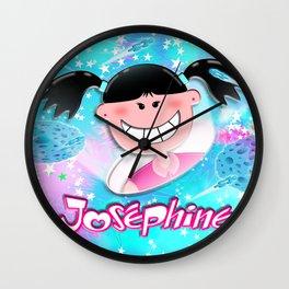 Josephine Texture Wall Clock