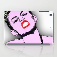 miley cyrus iPad Cases featuring Miley Cyrus by D Arnold Designs