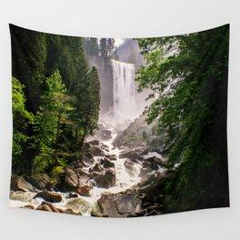 Yosemite Waterfall Wall Tapestry
