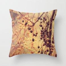 Autumn Life (II) Throw Pillow