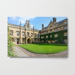 Sidney Sussex College, Cambridge Metal Print