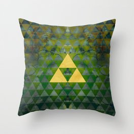 Link Geometry Throw Pillow