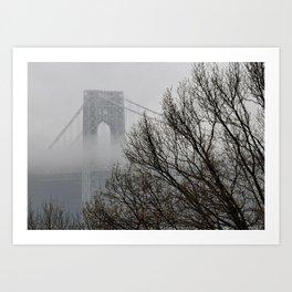 Foggy GW Art Print