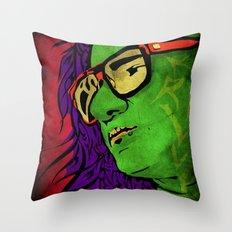 Skrillex Throw Pillow