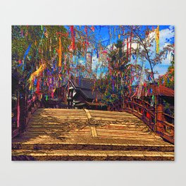 Tanabata, Evening of the seventh Canvas Print