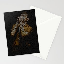 Ian Curtis : Unknown Pleasures Stationery Cards