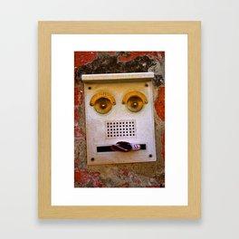 Smile, you are in Venice! Framed Art Print