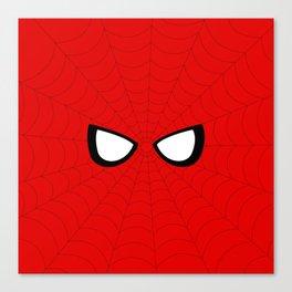 Spider Look Canvas Print