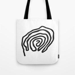 Tribal Print B&W- 06 Tote Bag
