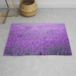 Rain on Lavender Rug