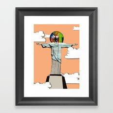 I never believed ... Framed Art Print