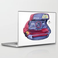 polaroid Laptop & iPad Skins featuring Polaroid by Glen Howy