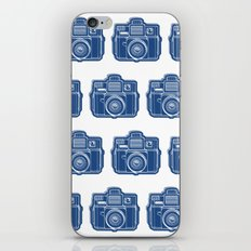 I Still Shoot Film Holga Logo - Blue iPhone Skin