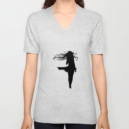 Blowing In The Wind Unisex V-Neck