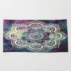 Galaxy Mandala : Deep Pastels Beach Towel