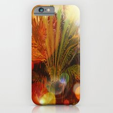 Tropical plants and flowers iPhone 6s Slim Case