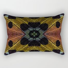 Butterfly Garden Vortex Rectangular Pillow