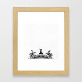 Minimal City III Framed Art Print