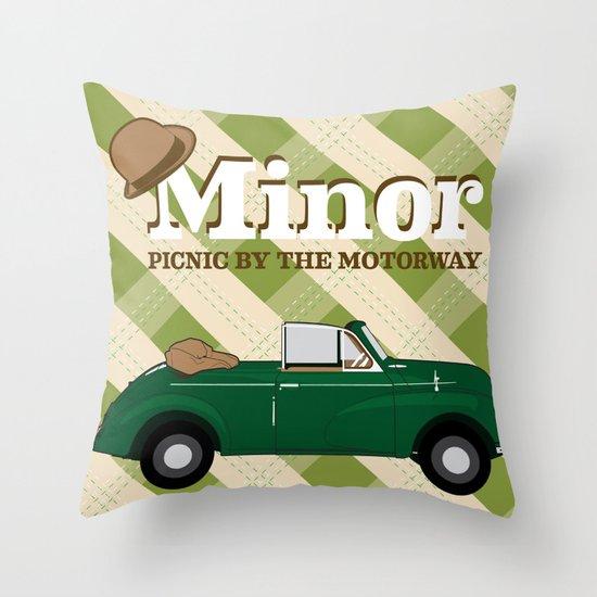 Minor Throw Pillow