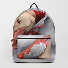 Cute Hentai Space Girl Posing Ultra HD Backpack