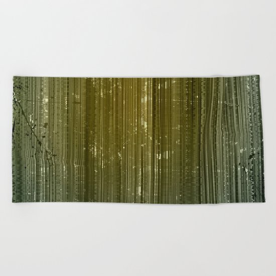 Electric Forest Beach Towel