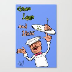 Green Legs and Ham Canvas Print