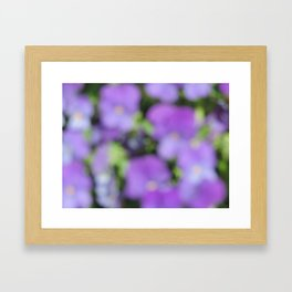 Blur II Framed Art Print