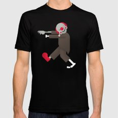 Zombie / Clown Black Mens Fitted Tee SMALL