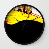 heels Wall Clocks featuring Vintage Heels by Time After Time
