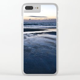 Blue Call of the Sea Clear iPhone Case