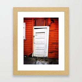 Dirty Backdoor Framed Art Print