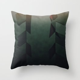 Green apples Throw Pillow