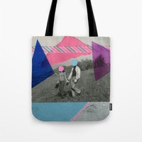 the cure Tote Bags featuring The Cure by Naomi Vona