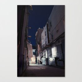 The Backstreet Canvas Print