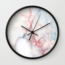 Rainbow Taffy Candy Marble Design Wall Clock
