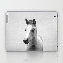 Baby Horse - Black & White Laptop & iPad Skin