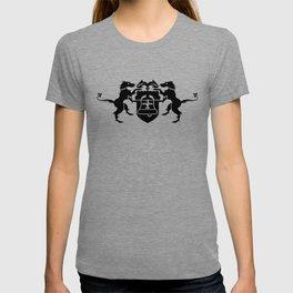 coat of arms - black T-shirt
