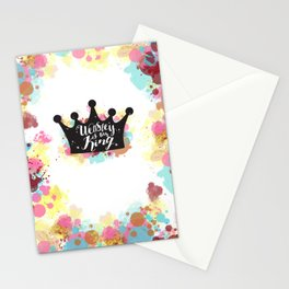 Weasley is our King Stationery Cards